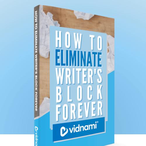 Eliminate Writer's Block Forever - eBook